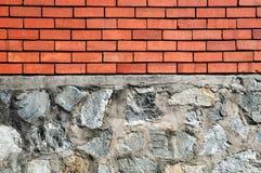 Muro di sostegno Fotografie Stock Libere da Diritti