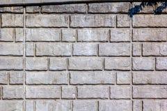 Muro di sostegno di pietra Fotografie Stock