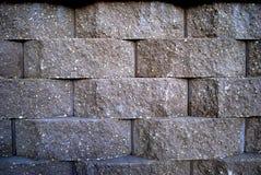 muro di sostegno a macroistruzione Fotografie Stock Libere da Diritti