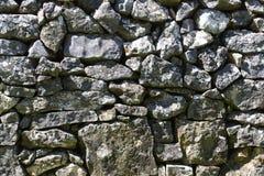 Muro a secco Mediterraneo Fotografia Stock