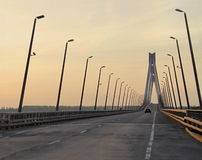 The Murom bridge Stock Images