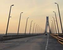 The Murom bridge stock images