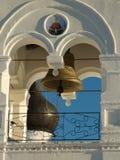 Murom. Klokketoren van het klooster Spasskogo Royalty-vrije Stock Foto's