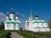 Murom. Monasterio de Spasskiy Foto de archivo libre de regalías