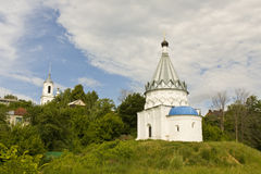 Murom, orthodox church Stock Photo