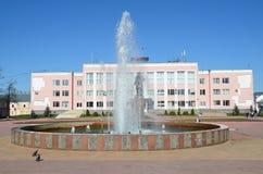 Murom, Russia, maggio, 02, 2013 Edificio servizi in Murom, regione di Vladimir Immagini Stock Libere da Diritti