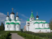 Murom. Spasskiy monastery Royalty Free Stock Photo