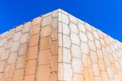 Muros de cimento da construção Fotografia de Stock Royalty Free