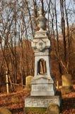 Murphy Cemetery, fondo del ` s di Murphy, PA immagini stock libere da diritti