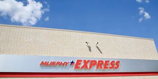 Murphy Gas Station Lizenzfreies Stockfoto
