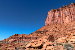 Murphy slingaCanyonlands NP ö i himlen Utah royaltyfria foton