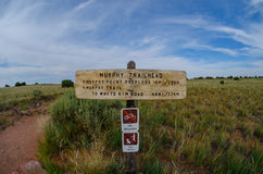Murphy Trailhead in Islands in the Sky Royalty Free Stock Image