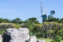 Murphy Windmill South Windmill nel Golden Gate Park a San Francisco, California immagini stock libere da diritti