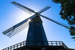 Murphy Windmill South Windmill nel Golden Gate Park a San Francisco, California immagine stock libera da diritti