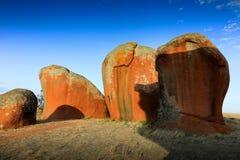 Murphys höstackar Södra Australien Arkivbild