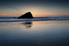 Murphys' Rock, Arch Cape, Oregon. Royalty Free Stock Photos