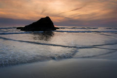 Murphys' Rock, Arch Cape, Oregon. Stock Images