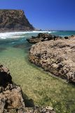 Murracao beach coastline Stock Images