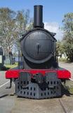 Decommissioned Steam Train, Murray Bridge, South Australia. Murray Bridge, South Australia, Australia - August 19, 2017: Old decommissioned steam train sitting stock photo