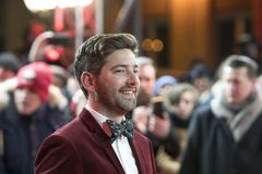 Murray Cummings under den 68th Berlinale festivalen 2018 Royaltyfri Bild