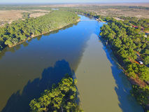 Murray Darling Junction Fotografie Stock