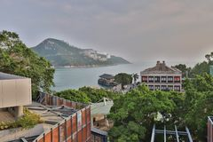 Murray House in Stanley Hongkong stock fotografie