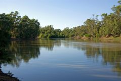 The Murray River Royalty Free Stock Photography