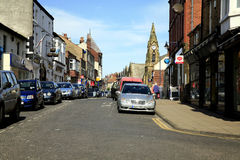Murray street, Filey, Yorkshire. Royalty Free Stock Image