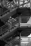 Murrayfield Stadium-Treppe Lizenzfreie Stockfotos