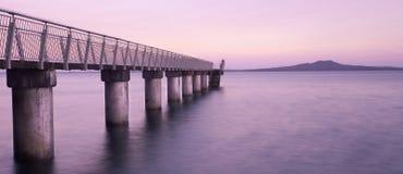 Murrays海湾新西兰 免版税库存图片