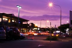 Murrays-Bucht-Straßenansicht 1 stockbilder