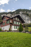 Murren nelle alpi svizzere Immagini Stock