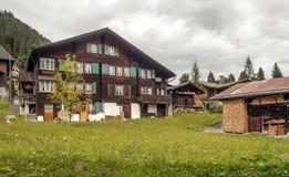 Murren nelle alpi svizzere Fotografia Stock Libera da Diritti