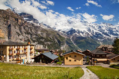 Murren in summer Royalty Free Stock Images