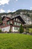 Murren in the swiss Alps Stock Images