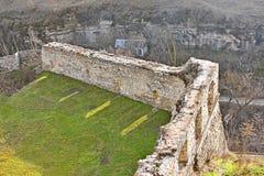 Murs antiques de la vieille forteresse Photos stock