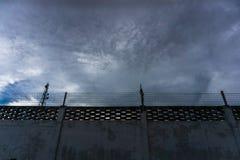 Murs, barrières, prisons, prisonniers, photo libre de droits