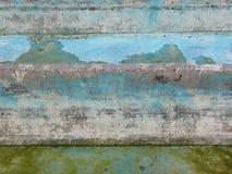 Murs bleus Photos libres de droits
