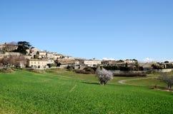 Murs byn i Luberon, södra Frankrike Fotografering för Bildbyråer
