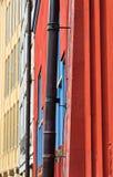 Murs colorés photo libre de droits