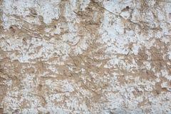 Murs délabrés d'adobe Image libre de droits