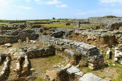 Murs d'archéologie Images stock