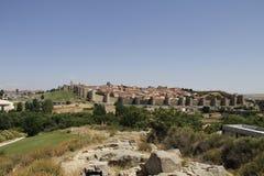 Murs d'Avila Image libre de droits
