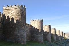 Murs d'Avila Images libres de droits