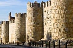 Murs d'Avila Photo stock
