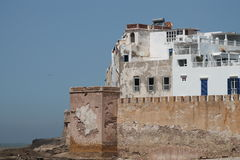 Murs d'Essaouira Photos stock