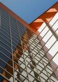 Murs d'un immeuble de bureaux. Image libre de droits