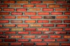 Murs de briques de émiettage Image stock