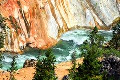 Murs de canyon Photo stock
