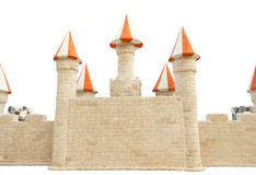 Murs de château. Photos libres de droits